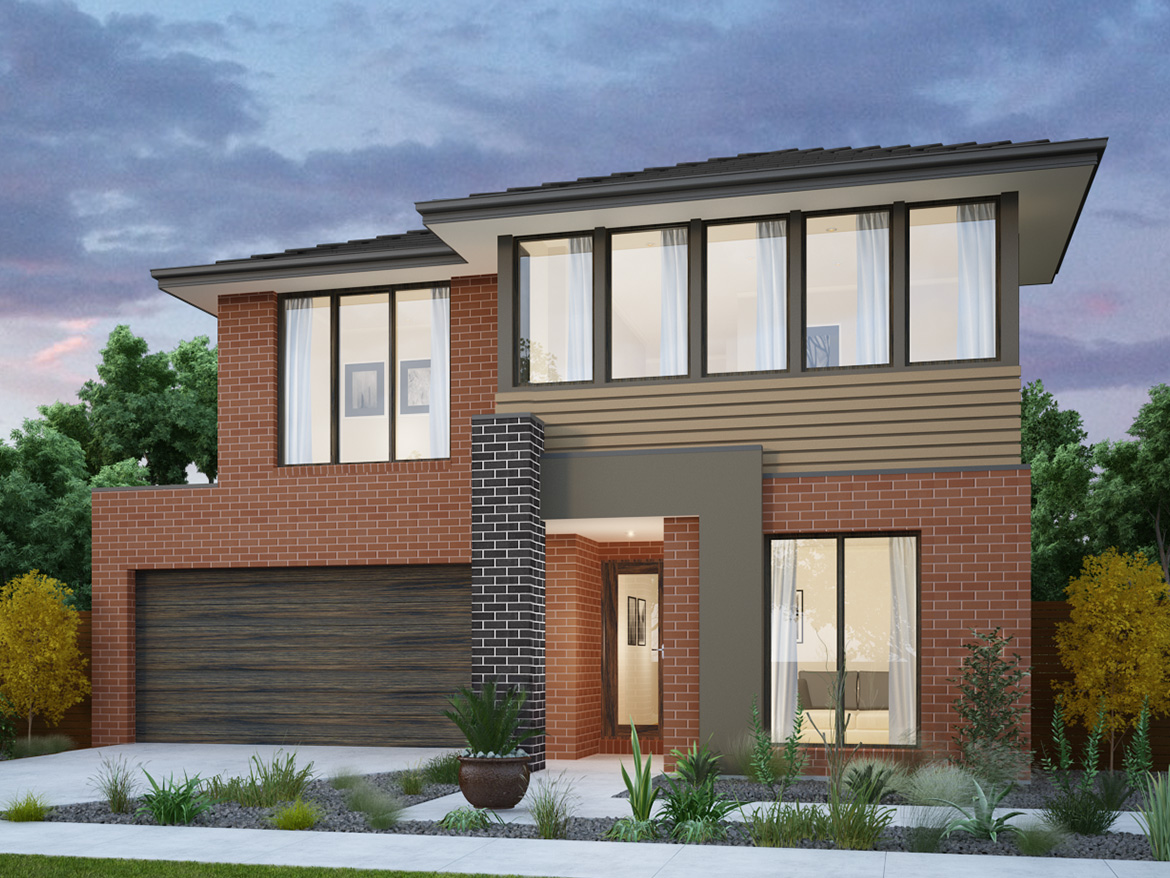 Ashwood 298 home and land package by burbank victoria 220276 for Ashwood homes