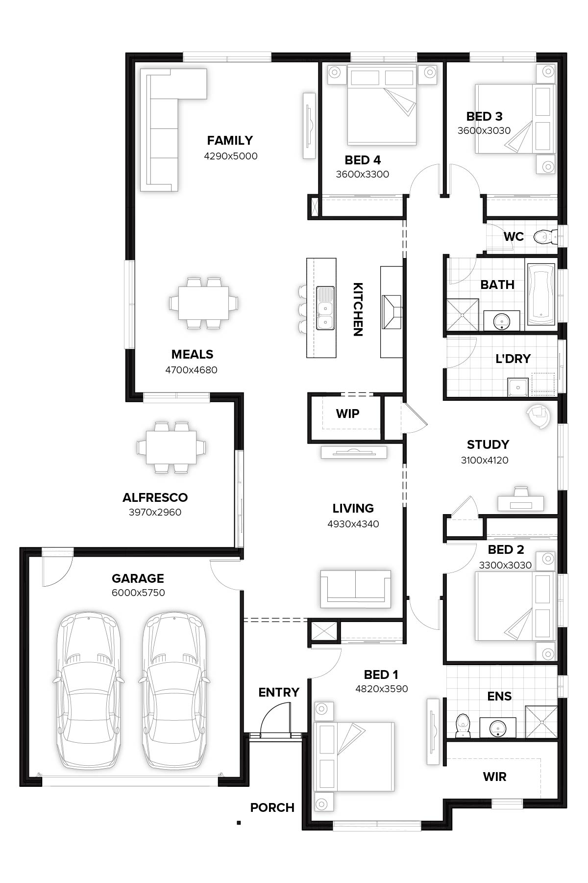 Sheffield 265 New Home Design By Burbank Queensland