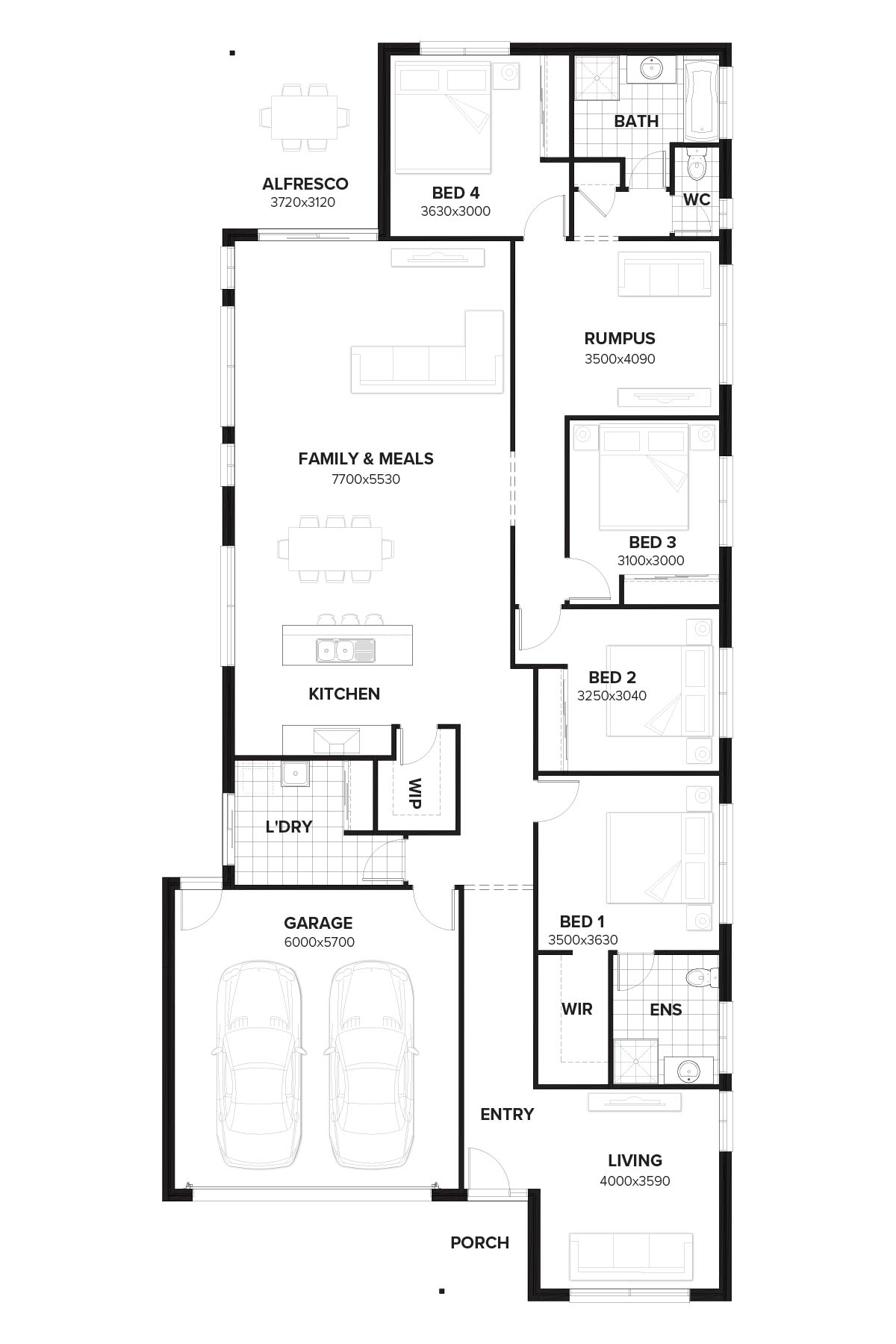 Wilshire 256 New Home Design By Burbank Queensland