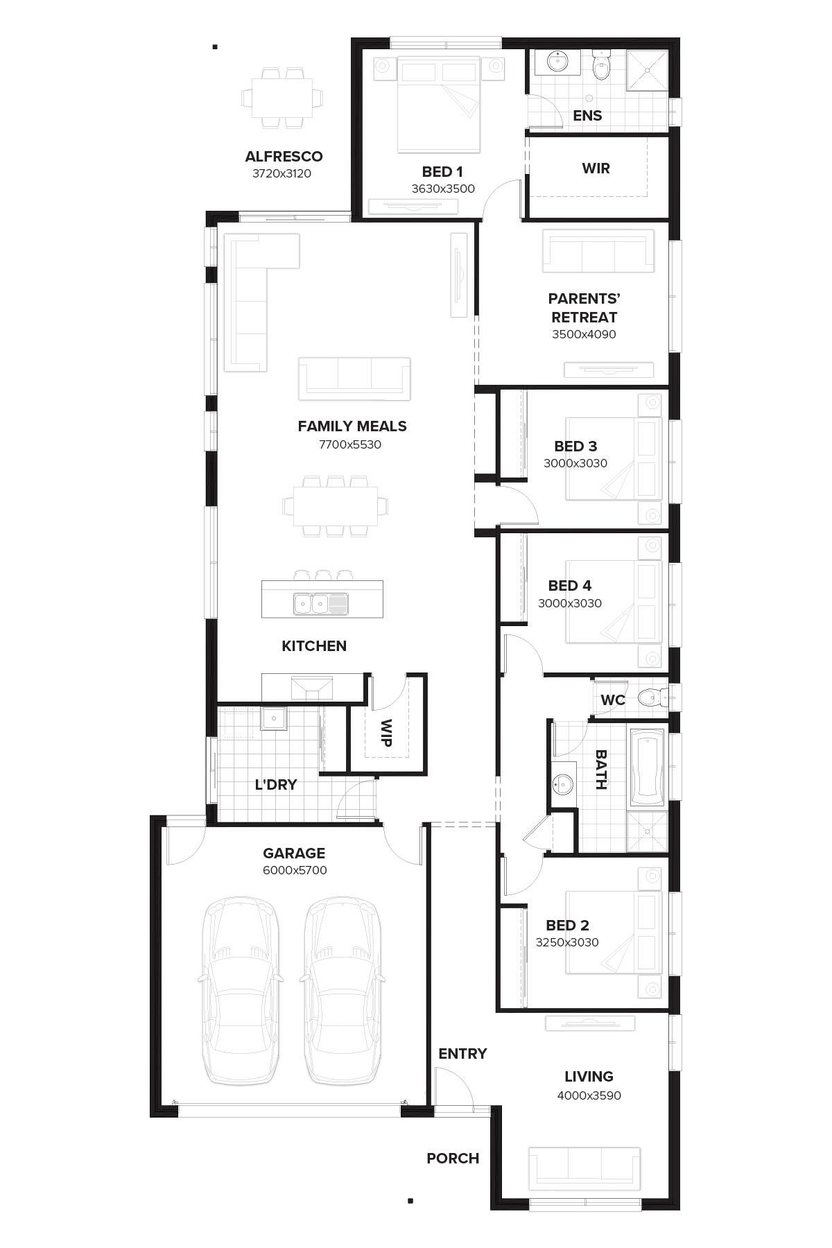 wilshire 257 new home design by burbank queensland